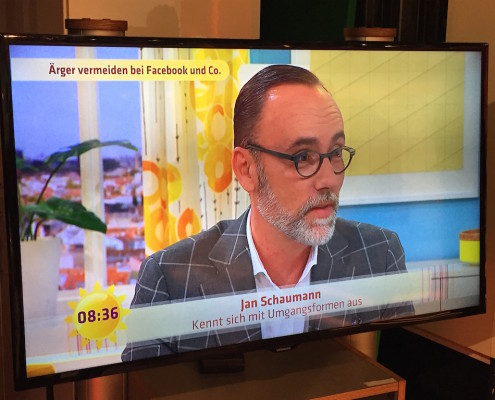 Jan Schaumann - SAT.1 Frühstücksfernsehen