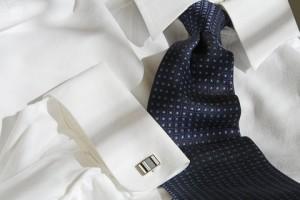 Hemd und Krawatte