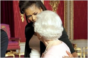 Michelle Obama und Queen Elizabeth II