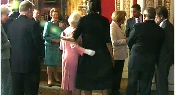 Queen Elizabeth II - Michelle Obama