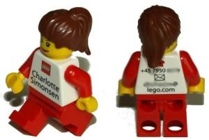 Visitenkarten Lego